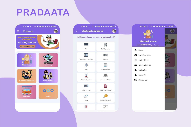 Pradaata Services